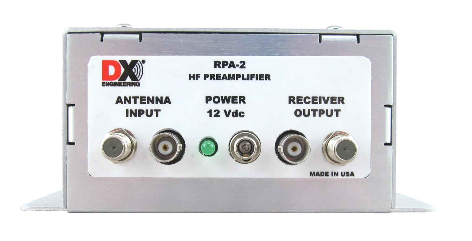 DX Engineering RPA-2 Modular Receive Preamplifiers DXE-RPA-2 DX Engineering  Antenna Accessories at £174 95 | Ham Radio