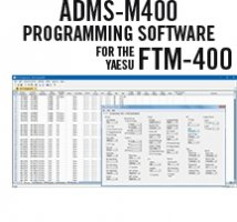 ADMS-M400 Programming Software for the Yaesu FTM-400