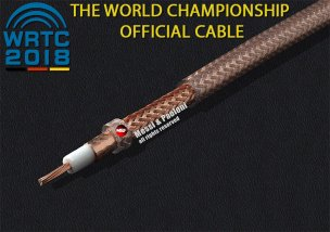 """MESSI & PAOLONI ULTRAFLEX 7 """"CRYSTAL"""" - better than RG213 but near to the size of Mini 8"""