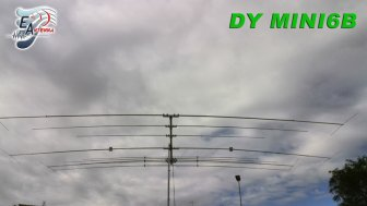 EAntenna DY MINI6B 9 ELEMENTS 10-12-15-17-20-40m - R2010170
