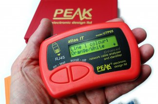 Peak Electronic Design UTP05 Atlas IT-Network Cable Analyser