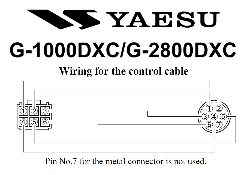 G 1000DXC and G 2800DXC Rotator Wiring Diagram yaesu g 2800dxc rotators at �929 95 ham radio Yaesu G-450A at n-0.co
